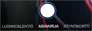 Skannausvaihtoehdot OneDrive for iOS:lle