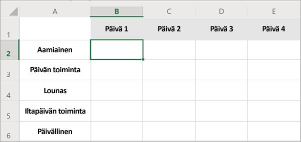 Office-tiedoston valmistelu yhteiskäyttöä varten