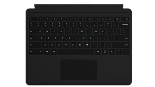 Surface Pro X -näppäimistö