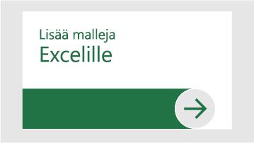 Lisää malleja Excelille