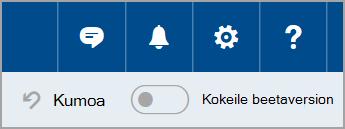 Outlook.comin beetaversioon liittyminen