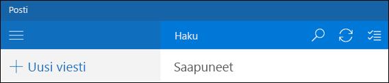 Hae Outlookin sähköpostissa