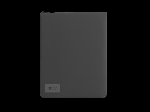 Surface Go Sleeve, jossa on vetoketju.