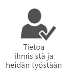 PMO – Tiedot jokaisen työtehtävistä