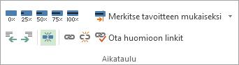 Kuva Tehtävä-välilehden Jaa tehtävä -painikkeesta.