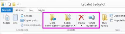 Avaa kansio, jossa ladattu tiedosto sijaitsee.