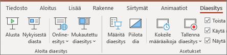 Office 365 PowerPoint Diaesitys