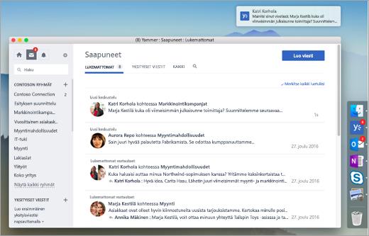 Desktop App näyttökuva