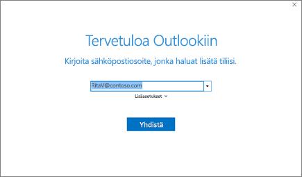 Tervetuloa Outlookiin