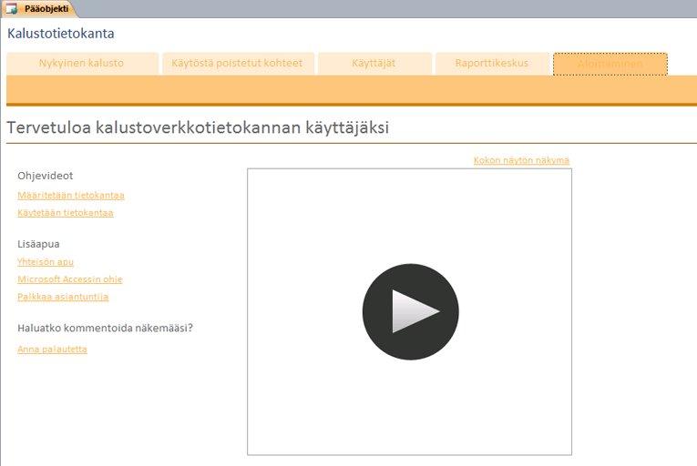 Kalusto-WWW-tietokanta