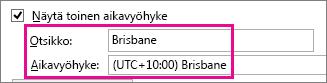 Brisbane-aikavyöhyke