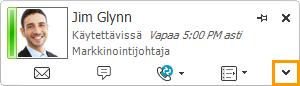 Laajenna Lync-yhteystietokortti