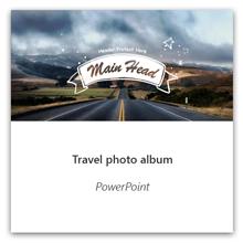 Matkan valokuva-albumin luominen PowerPointissa