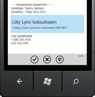 Liity Lync-kokoukseen