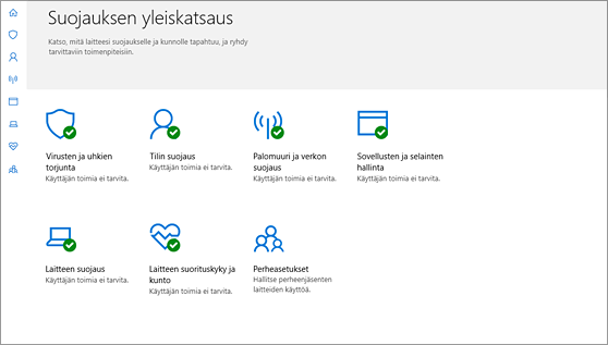 Windows Defender Security Center