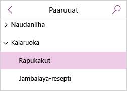 Jaetun työkirjan sivuluettelo, jossa sivujen nimet on lihavoitu, jos niitä ei ole luettu.