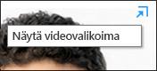 Avaa videovalikoima uuteen ikkunaan