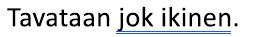Sininen Kaksoisalleviivaa merkitty kielioppivirhettä
