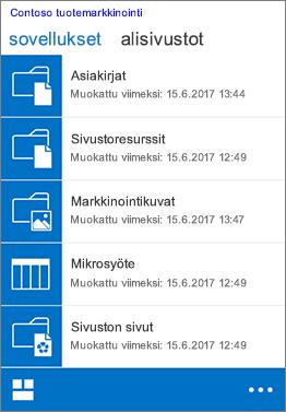 iOS Mobiilinäkymä Safari