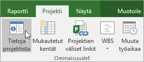 Projektin tiedot