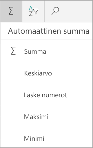 Windows-tabletille Excelin summa