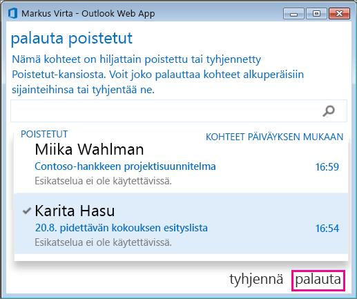 hotmail sähköpostin avaaminen Lahti