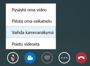 Videolaitteen vaihtaminen