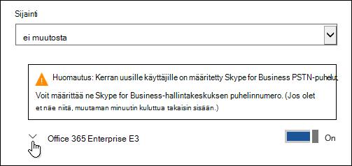 Laajenna käyttöoikeus on Microsoft Forms-ominaisuus