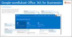 Google-sovelluksista Office 365:een siirtymistä koskevan oppaan pikkukuva