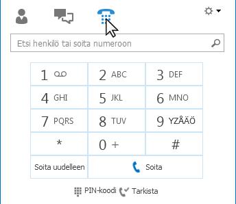 Puhelin-välilehti