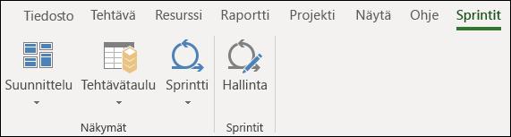 Sprints-välilehti