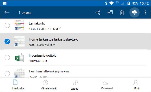 OneDrive, Pysy online-tilassa