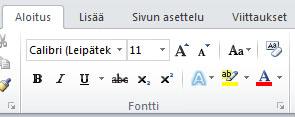 Fontti-ryhmä