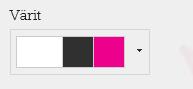 Sivuston värien muuttaminen