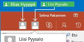 Reaaliaikainen yhteistyö PowerPoint for Androidissa