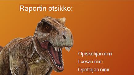 Käsitteellinen kuva 3D-kouluraportista