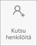 Kutsu henkilöitä -painike OneDrive for Androidissa