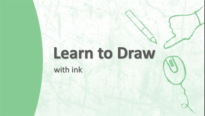 Esimerkki piirtämiseen liittyvä Learning-opas