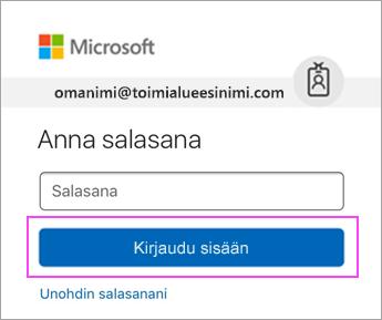 Anna Outlook.com-salasanasi