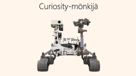 Käsitekuva 3D Rover -raportista