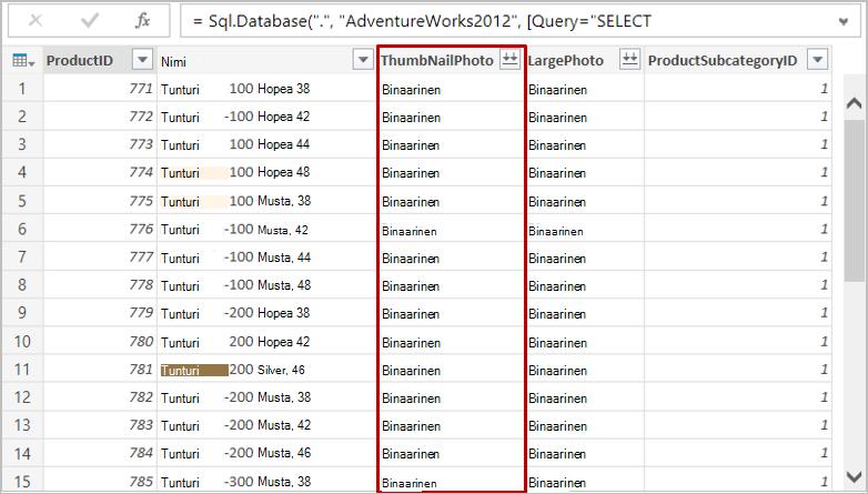 SQL-tietokanta