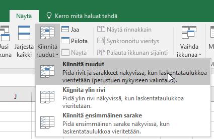 Excel Lukitse Solu