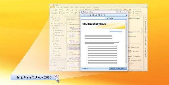 Outlook 2010 -harjoitukset
