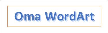 WordArt-esimerkki