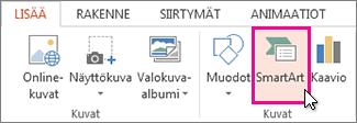 Valitse SmartArt