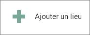 La commande Ajouter un emplacement dans Word2013