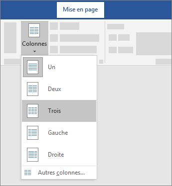 Créer Des Colonnes De Bulletin Word