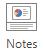 Sous l'onglet Affichage de la ribon, dans le groupe Afficher, sélectionnez Notes.