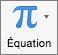 Bouton Équation