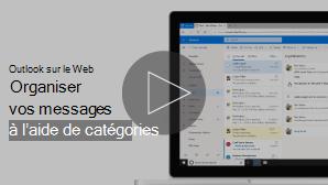Image miniature de la vidéo organiser la messagerie à l'aide de catégories